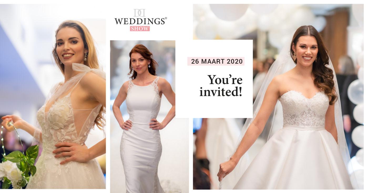 weddings show 26 maart