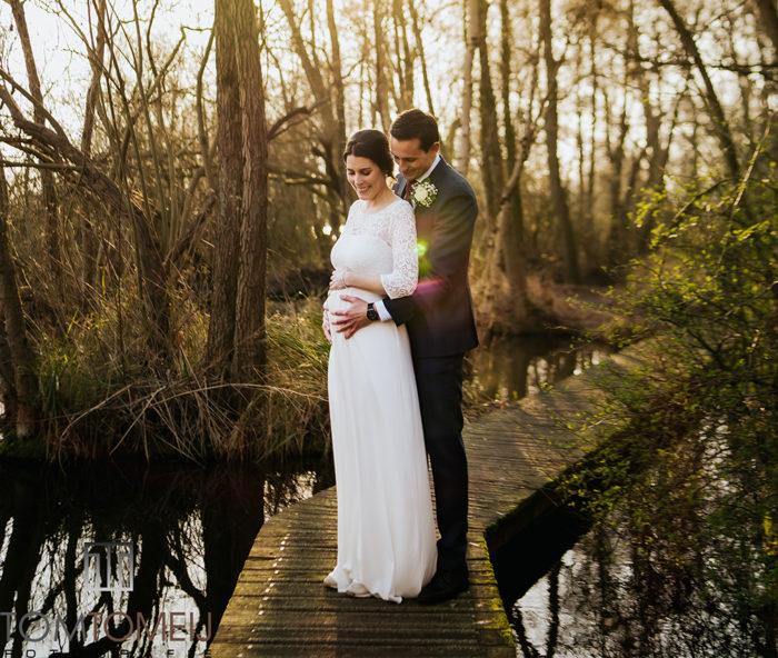 Zwanger trouwen Tom Tomeij Fotografie