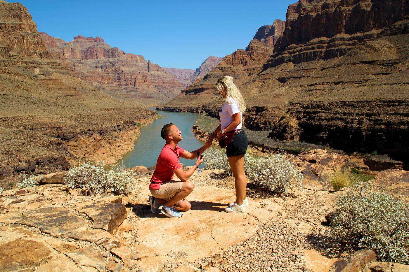 Weddings story: Grand Canyon