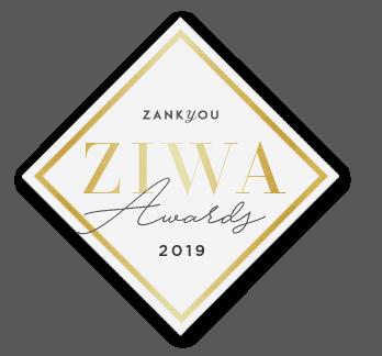 Ziwa award trouwinspiratie